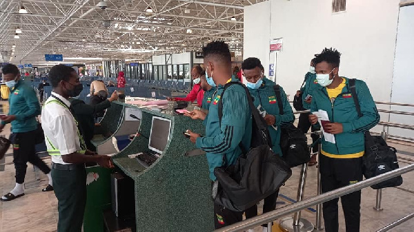 World Cup Qualifiers: Black Stars opponents Ethiopia arrive in Ghana