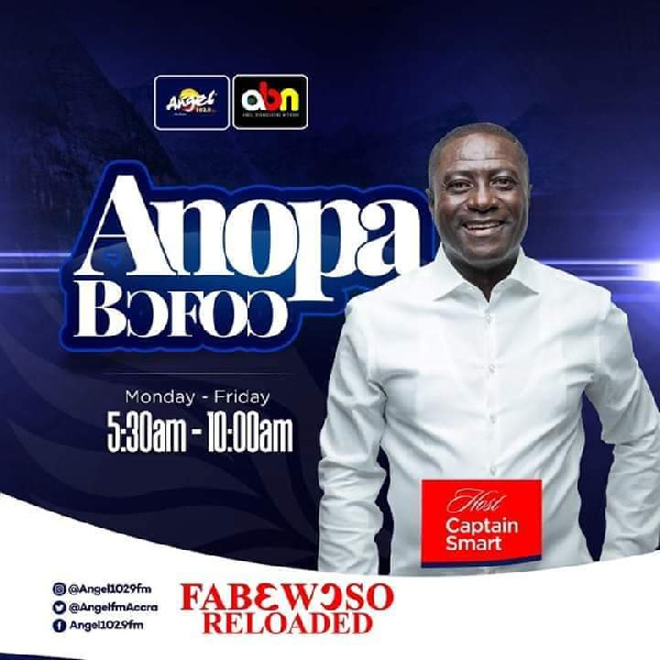 LIVESTREAMING: Anopa Bofo on Angel FM with Captain Smart