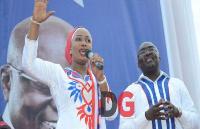 Samira Bawumia and Dr. Mahamudu Bawumia