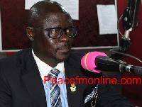 NPP Acting National Communications Director, Yaw Adomako Baafi