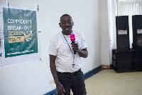Nanga Kaye, Sustainable Food Coordinator of World Food Programme
