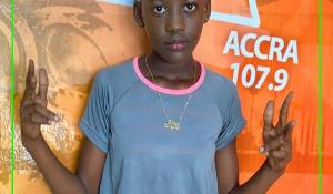 Araba Attah, young comedienne