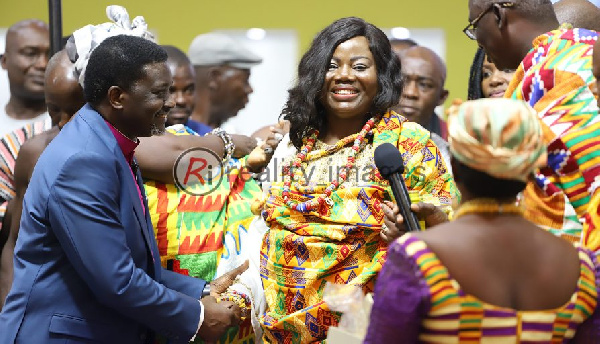 COP Maame Yaa Tiwaa now a Queen Mother at Aflao