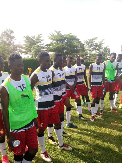 The Black Starlets must beat Togo to guarantee progress at the U17 Africa Cup qualifying tournament