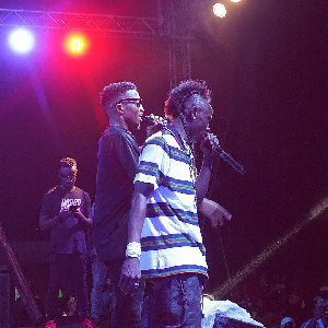 Patapaa Amisty and Kofi Kinaata