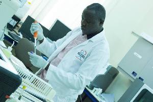 Cephas Akortor Lab Technician