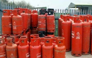 File photo of gas cylinders
