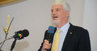 William Hanna, outgoing European Union (EU) Ambassador to Ghana