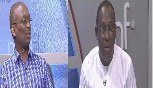 Abdul Malik Kweku Baaku (left) and Kofi Bentil (right)
