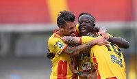 Benevento held an advantage into the game following Rahman Chibsah's lone strike