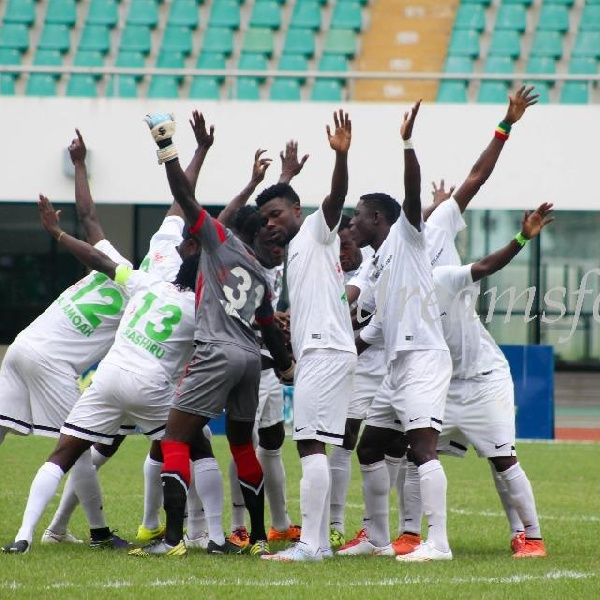 Dreams FC beat Ebusua Dwarfs by 2-0 to return to winning ways