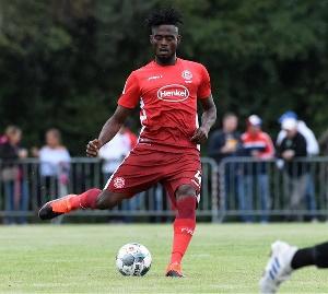 Kasim Adams is doubt for Dusseldorf's clash with Eintracht Frankfurt