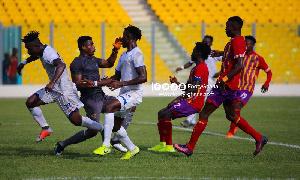 Berekum Chelsea beats Hearts of Oak on Match day one of the 2019/20 GPL