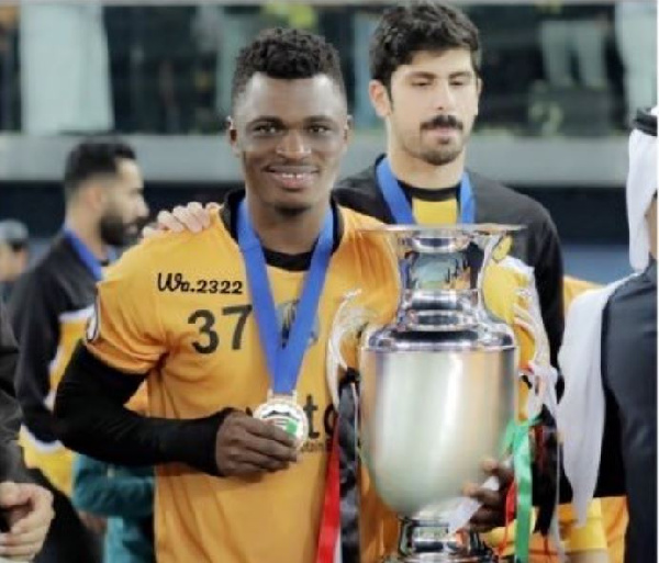 Playing in the Kuwaiti league has elevated my personality - Rashid Sumaila