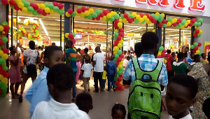 The mall was full to capacity as Ghana marked it's 63rd Independence Day Celebration.
