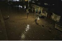File photo: Flooding at Kwame Nkrumah Circle Interchange