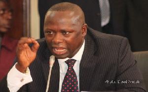 Former Deputy Energy Minister, Armah-Kofi Buah