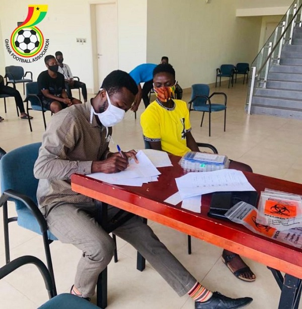 Players and officials of Black Maidens, Princesses undergo coronavirus tests