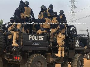 Police SWAT Armed