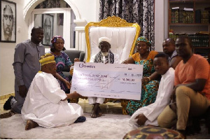 Zoomlion  Donation To Imam