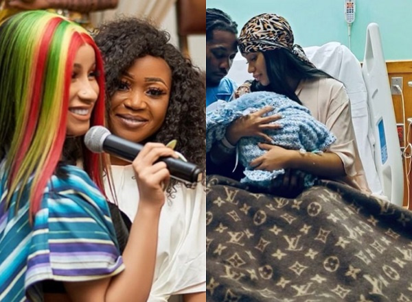 Cardi B and Offset reveal they welcomed their second baby