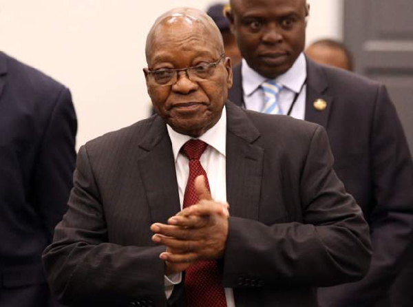 Jacob Zuma is former president of South Africa