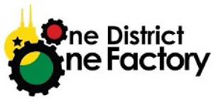One District One Factory (1D1F) logo