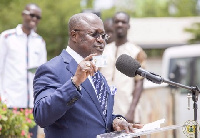 Professor Ken Attafuah,  Executive Secretary for the National Identification Authority