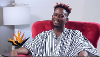 Mr Eazi was speaking to Delay on 'the Delay show'