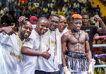 The young boxer earned the nickname 'Bukom Bomber' due to his skills and ring craft