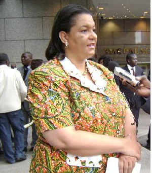 Minister of Foreign Affairs and Regional Integration, Ms Hanna Tetteh