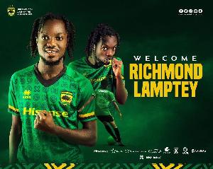 Richmond Lamptey joined Asante Kotoko from Inter Allies