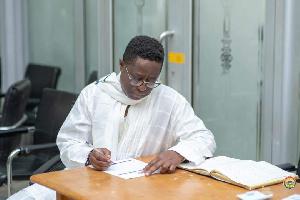 John Peter Amewu MP Elect Registration