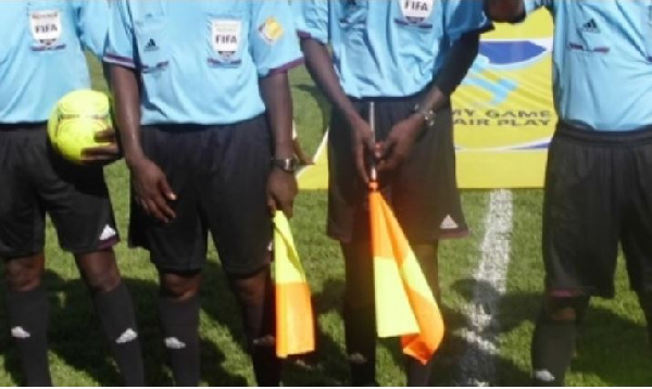 Referee in Ashgold-Hearts penalty controversy banned