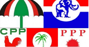 Political Parties Flags Logos