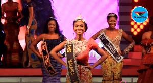 Mariam Owusu-Poku, winner of Miss Malaika 2018