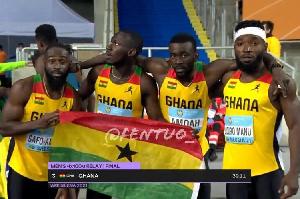 4x100m men's relay team