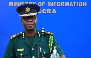 Laud Kwasi Ofori-Afrifa, Deputy Comptroller General in charge of Operations