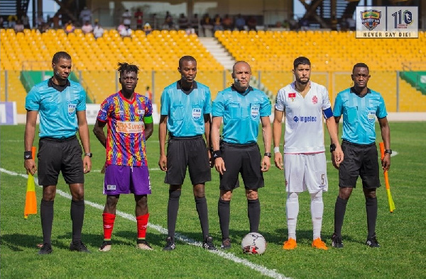 LIVE UPDATES: Wydad Athletic vs Hearts of Oak (CAF Champions League)