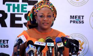 Minister for Gender, Children and Social Protection, Otiko Afisa Djaba