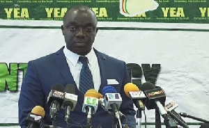 Justin Frimpong, CEO of YEA