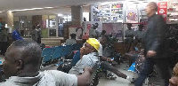 Ghana officials and players have been left stranded Niamey International Airport