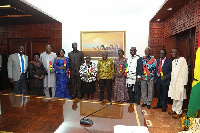President Akufo-Addo swore into office the 8-member governing body of the Civil Servicr Council