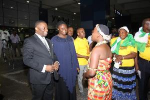 Pastor Ighosotu is in Ghana for Apostolic Invasion Crusade
