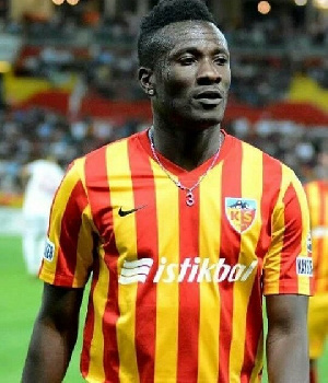 Gyan has struggled for game time this season partly due to injuries