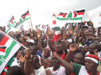 NDC supporters (File photo)