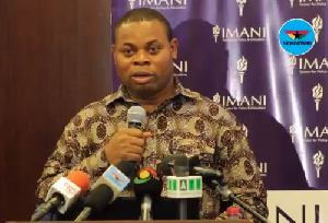 President of Policy think tank IMANI Africa, Franklin Cudjoe