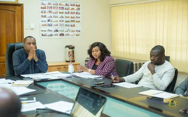 Adwoa Safo commended the Ministry of Education for strictly adhering to the procurement laws