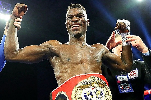 Commey won and lost the IBF Lightweight title this year