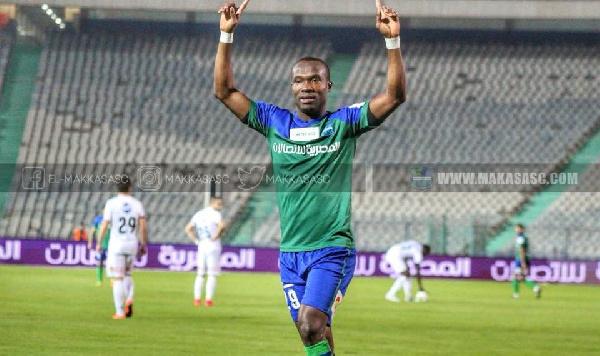 Pyramids FC striker John Antwi seeking move to the Gulf